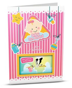 New Baby Greeting Card BB002-1
