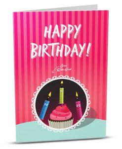 Birthday Greeting Card HB004-1