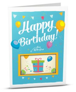 Birthday Greeting Card HB012-1