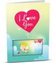 Love Greeting Card LO001-1