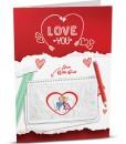 Love Greeting Card LO002-1