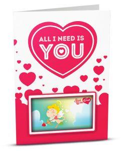 Love Greeting Card LO004-1