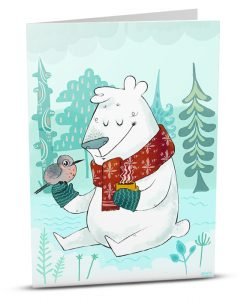 Christmas Greeting Card D001-1