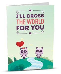Love Greeting Card LO005-1