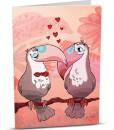 Love Greeting Card D002-1
