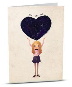 Love Greeting Card M006-1