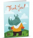 Thank You Greeting Card D003-1