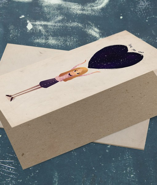 Love Greeting Card M006-4