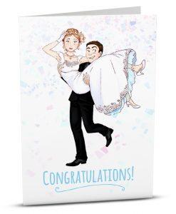 Wedding Greeting Card A001-1
