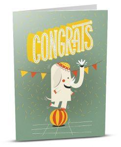 Congratulations Greeting Card CS001-1