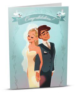 Wedding Greeting Card MA002-1