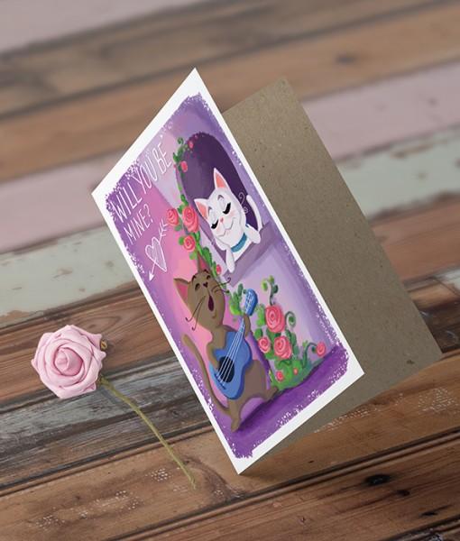 Love Greeting Card MK001-4