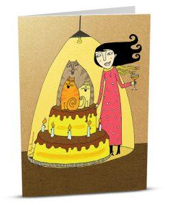 Birthday Greeting Card P003-1