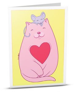 Love Greeting Card TD001-1