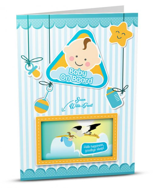 New Baby Greeting Card BB001-1
