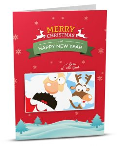 Christmas Greeting Card MC001-1