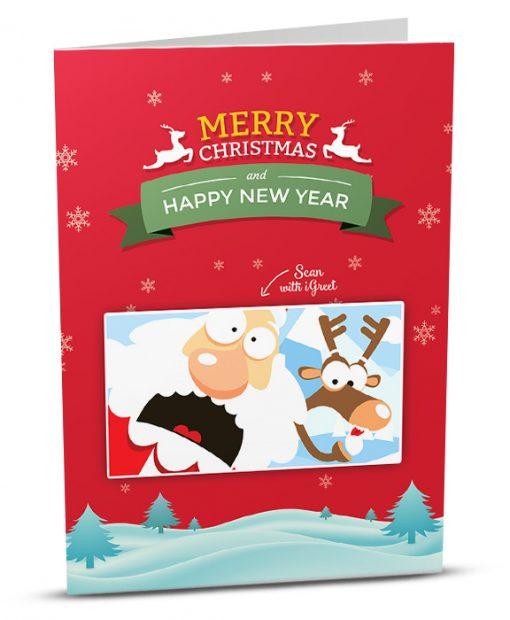 Christmas Greeting Card MC001-1