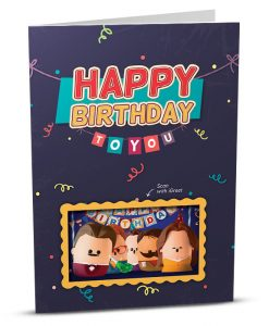 Birthday Greeting Card HB001-1