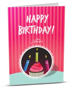 Birthday Greeting Card HB004-1