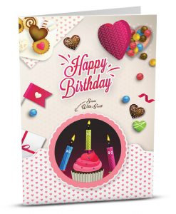 Birthday Greeting Card HB005-1