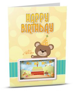 Birthday Greeting Card HB006-1