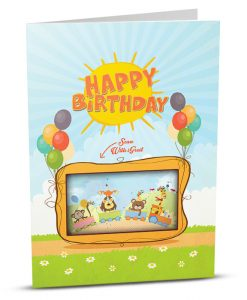 Birthday Greeting Card HB007-1