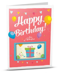 Birthday Greeting Card HB008-1