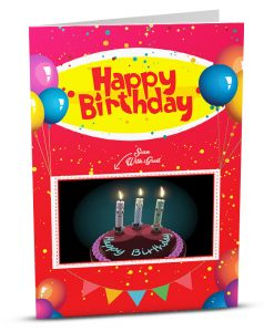 Birthday Greeting Card HB009-1