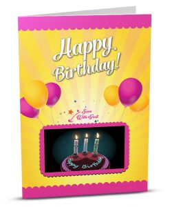 Birthday Greeting Card HB011-1