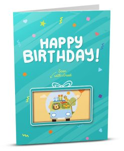 Birthday Greeting Card HB014-1