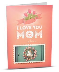 Mom Greeting Card LM001-1