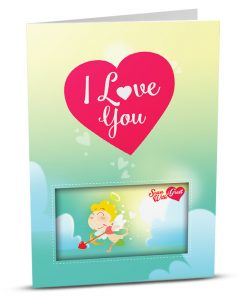 Love Greeting Card LO001-1