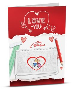 Love Greeting Card LO002-1