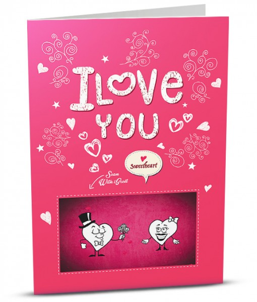 Love Greeting Card LO003-1
