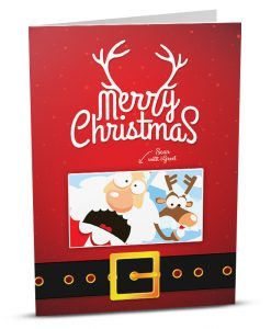 Christmas Greeting Card MC002-1