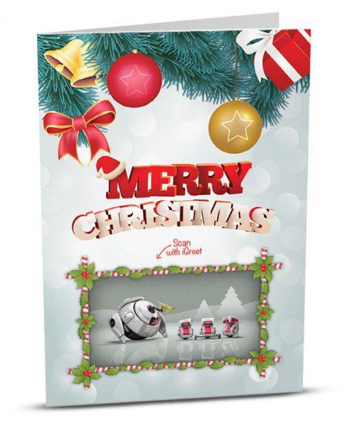 Christmas Greeting Card MC008-1