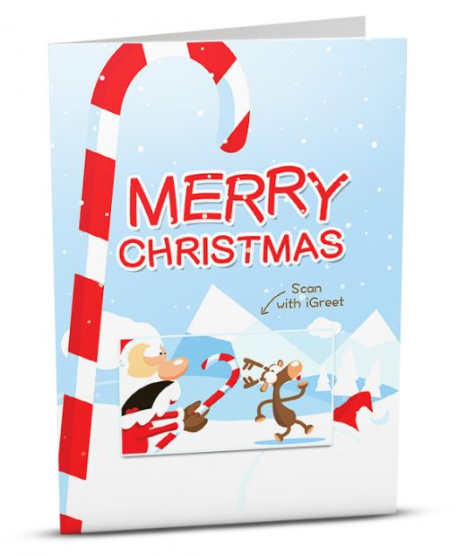 Christmas Greeting Card MC009-1