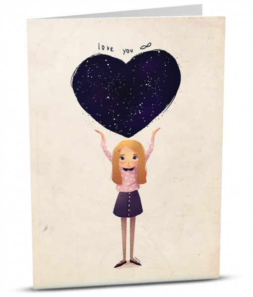 Love Greeting Card M006-1