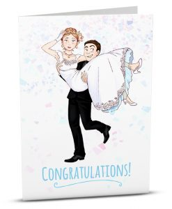 Wedding Greeting Card A001-1