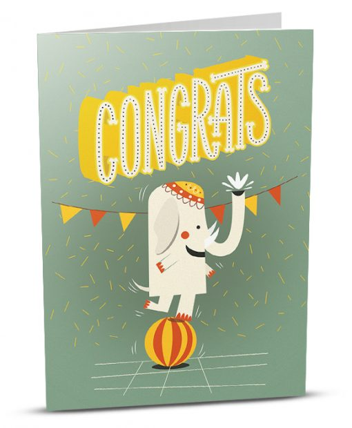 Congratulations Greeting Card CS001-1