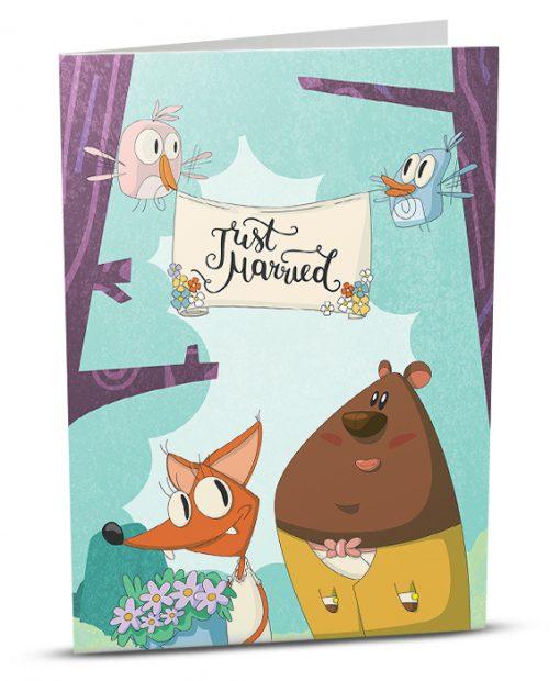 Wedding Greeting Card G001-1