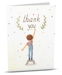 Thank You Greeting Card M003-1