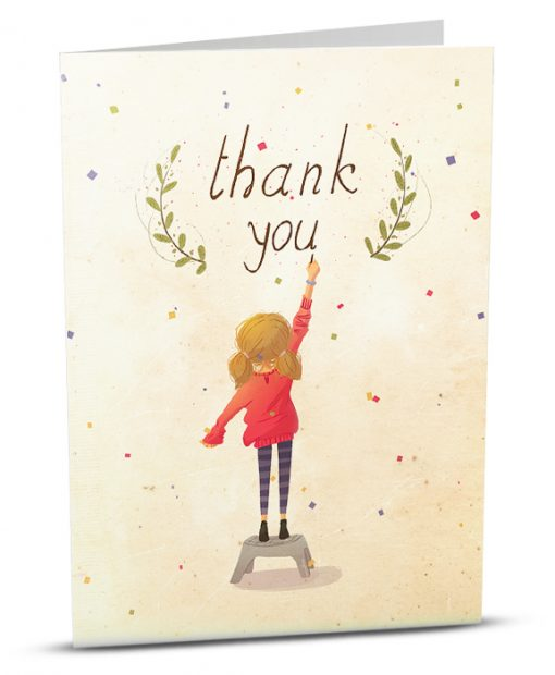 Thank You Greeting Card M004-1