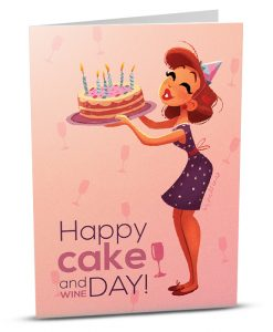 Birthday Greeting Card MA003-1