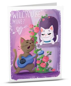 Love Greeting Card MK001-1