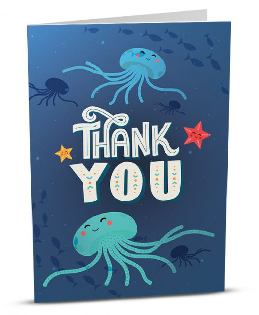 Thank You Greeting Card TY001-1