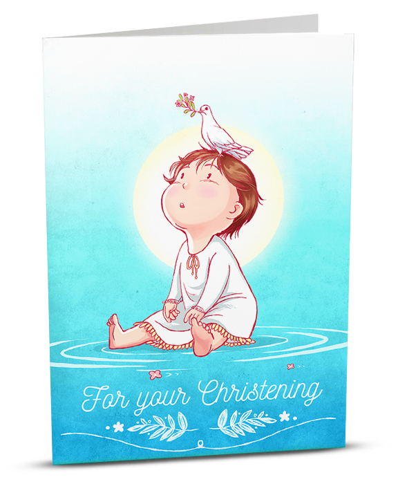 For your christening igreet christening greeting card a002 1 m4hsunfo