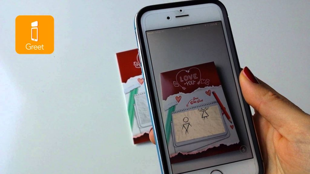 Blog igreet augmented reality greeting cards the 5 types of augmented reality m4hsunfo
